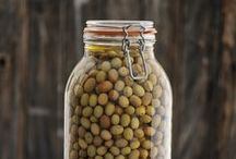 Canning and Bottling / Storing all that extra produce the natural ways. rustic quail