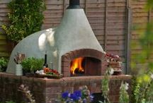 Pizza Oven / pizza ovens and outside cooking spaces