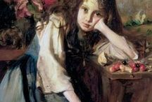 Art - Victorian Style Paintings / Some of these may not actually be Victorian / by Edward Thorne