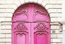 Color Inspiration: Pink / Inspiration board for pink color