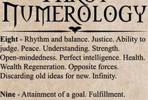 Numerology / The occult meaning of numbers.