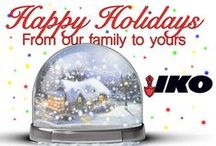 Holiday and Special Events / We love any good reason to get creative! Pin our seasons greetings, long weekend wishes and all things in-between here! Fro IKO Roofing Shingles to you and your family.