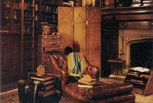 Library / bookshelf