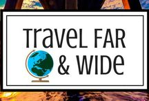 Travel Far And Wide / A group board for all Travelers & Tourists who love to Travel Far and Wide! Sick of exclusive boards? Look no further...this board is open to absolutely ANYONE with a passion for travel.   Share your very best travel blogging posts! Pin as much as you like! Relevant content ONLY: Pictures and Non-Travel Blog Posts will be removed. VERTICAL pins only. Happy Pinning!  To be added contact Carolynne at 1thirstytourist@gmail.com and follow The Thirsty Tourist at www.pinterest.com/1thirstytourist