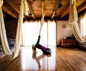 Aerial Yoga Videos / A few of the many wonderful videos showing poses that are inspirational.