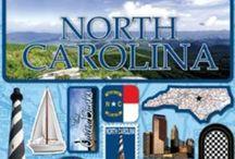 My State - North Carolina / by Vickie Gray