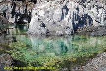 Lugares de interés en la isla de la Palma.(Canarias) / Playas, miradores, rincones con encanto....