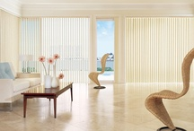 Vertical Blinds / Vertical blinds provide versatile light control, specific privacy levels, easy maintenance, insulation against both heat and cold, and color coordination. Eddie Z's collection is available in over 200 colors, styles and textures in vinyl, fabric and wood suitable for any decor. Vertical blinds are an excellent solution for decorating your sliding glass doors or oversize windows. http://bit.ly/10qTzqx