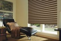 Honeycomb Shades [Cell Shades] / These shades provide a soft look without losing the function of blinds. Cellular Shades are the most energy-efficient window treatment for your home, keeping the heat out in summer and the cold out in winter. Attractive and versatile, they include options such as top-down/bottom-up, cordless (perfect for child safety), continuous cord loop and both battery and hard wired power operation systems. http://bit.ly/18LSihr