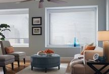 Sheer Shadings / Sheer Window Shadings feature beauty and elegance by creating a unique visual experience. These shades offer light control, an unobstructed view of the outside, UV protection, privacy, energy efficiency, and manual or power controls. http://bit.ly/13lYLK4