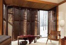 Composite Shutters / Composite shutters combine great style with the strength and stability of advanced modern day materials. More economical than wood shutters, they will work well with your family's active lifestyle as they are scratch resistant, humidity resistant and washable, making them less prone to environmental effects. http://bit.ly/12vEQL3