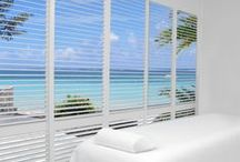 Vinyl Shutters / Vinyl Shutters are durable and replicate custom wood shutters. They are designed for easy care and are a great window covering solution for windows exposed to extreme temperatures and humidity. These shutters are guaranteed never to wrap, crack, chip, peel or fade. As with all shutters, Vinyl Shutters offer beauty, architectural appeal, light control, energy efficiency and sound insulation. http://bit.ly/12BKSsl