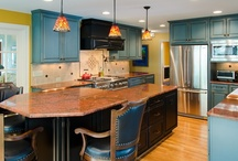 Colorful Kitchen with Exquisite Details / by Lane Homes & Remodeling, Inc.