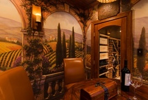 Tuscan-Style Wine Room / by Lane Homes & Remodeling, Inc.