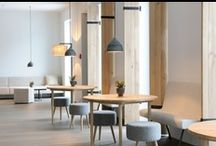 interiors | restaurants + bars / by ana.rodrigues