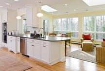 Crisp White Kitchen / by Lane Homes & Remodeling, Inc.