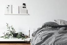 | B E D R O O M | / A collection of a few images that encapsulate my favourite style of bedroom interiors.