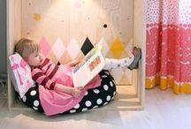 Aantrekkelijke leesomgeving / Hoe richt je de klas, de school of de bibliotheek op een aantrekkelijke manier in