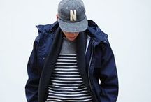 | L E | B L E U | / All blue men's fashion.