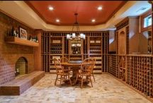 A Basement with Wine Room / We updated this damp, dark basement into a bright and open entertainment venue complete with a wine room!   / by Lane Homes & Remodeling, Inc.