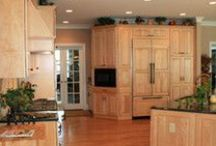 Kitchen Renovation with Country Charm / This magnificent kitchen is big, bright and loaded with storage. There is semi-custom cabinetry throughout, even in the butler's pantry, and a large island with enough seating for all! / by Lane Homes & Remodeling, Inc.