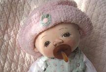 bonecas de tecido  / by Shirley Shirley