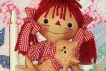 raggie dolls / by Shirley Shirley