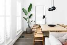 | S P A C E S | / A collection of living space images inspired by scandinavian and minimalistic styled interiors.