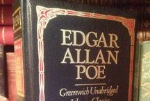 Edgar Allan Poe / I realized I have gotten a little obsessed with Poe as of late and needed a place to put all of it...