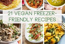 Food Recipe Roundups & Lists! / Food recipe roundups & lists, includes vegan and non-vegan. :)