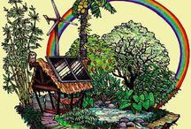 Permacultura / Metodología de diseño de espacios productivos, imitando a los sistemas naturales, en particular los bosques