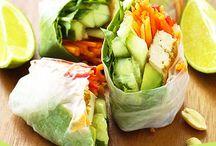 ❤️ Vegan Lunches / Vegan lunch recipes #vegan #lunch #recipes