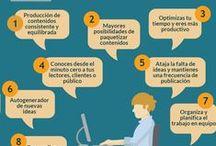 Blog Networking contra el Paro / Infografías creadas como soporte del contenido publicado en el blog. networkingcontraelparo.com Artículos sobre Marketing, Social Media (Redes Sociales), Formación, Emprendedores.