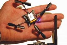 Drones & UAVs / Los drones (zánganos) y UAVs (vehículos autónomos no tripulados) son gadgets interesantes por la multitud de aplicaciones que pueden tener, en mi caso me interesan en el campo agrícola, de ayuda para el estudio topográfico del terreno. Ademas de ello son unos dispositivos fascinantes, pero también encierran peligros, que habrá que vigilar