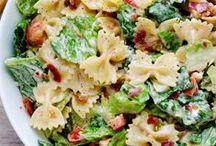 Salads / The lighter fair