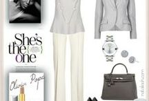 Inspired by TV characters / Fashion inspired by TV characters like the famous Olivia Pope