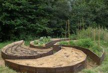 Diseño de huertos, Horticultura / Diseño de huertos, tecnicas como cultivo biointensivo, metro cuadrado, en balas de paja, hugelkultur, etc