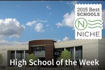 Niche High School of the Week / Every Week niche Celebrates an outstanding high school in america. You can find out more about Niche's High School of the Week at https://blog.niche.com/2015/06/niches-high-school-of-the-week/ / by Niche