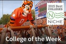 Niche College of the Week / Each Week Niche.com picks a college that we want to give a shout out to for their overall excellence. This board is a collection of all our our past College of the Week winners. / by Niche