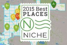 2015 Niche Neighborhood Rankings / Niche's 2015 Best Neighborhoods in America Rankings are here. Check out the best neighborhoods for families and the best overall neighborhoods in your favorite metro area. / by Niche