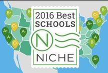 2016 Best Public High Schools in America / Niche provides in-depth profiles and rankings on every elementary, middle and high school in America. Check out our new 2016 School Rankings at https://k12.niche.com/rankings/ and see where your school and school distract rank. / by Niche