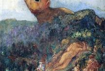 Odilon Redon / Odilon Redon was a French symbolist painter, printmaker, draughtsman and pastellist.  Born: 20 April 1840; Bordeaux, France Died: 06 July 1916; Paris, France Nationality: French Art Movement: Symbolism Painting School: Société des Artistes Indépendants (Society of Independent Artists) Field: painting, printmaking