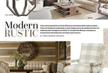 Style Directions - Modern Rustic / Fresh from the farm, these modern rustic looks make it easy to create everyday elegance.