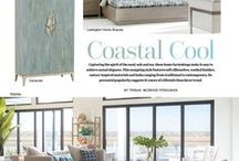 Style Directions - Coastal Cool / Looks that give the feeling of being at the beach and cottage styles that offer an updated coastal feel.