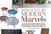 Style Directions - Mid-Century Modern / The latest looks with the timeless inspiration of Mid-Century Modern