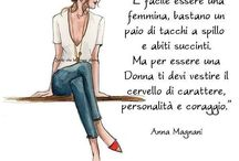 Donne , moda , femmine !