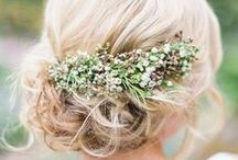 Bridal Hair / Bridal hair inspirations!