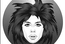 Mis trabajos en Adobe illustrator / Algunos trabajos con Illustrator, ejercicios y divertimentos