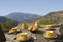Stunning terrace views