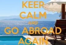 Keep calm and go abroad again